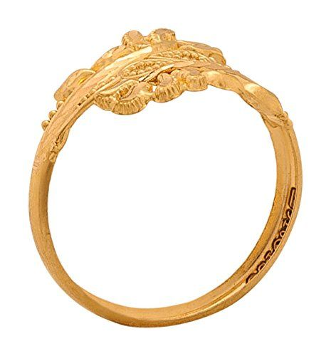 Buy Senco Gold Aura Collection 22k Yellow Gold Ring Online at Low ...