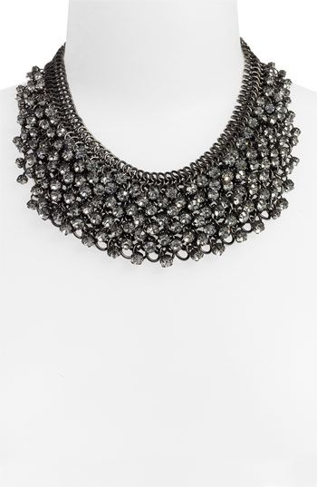 503329f1fdb3 Tasha Metal   Crystal Cluster Bib Necklace  128  nordstroms ...