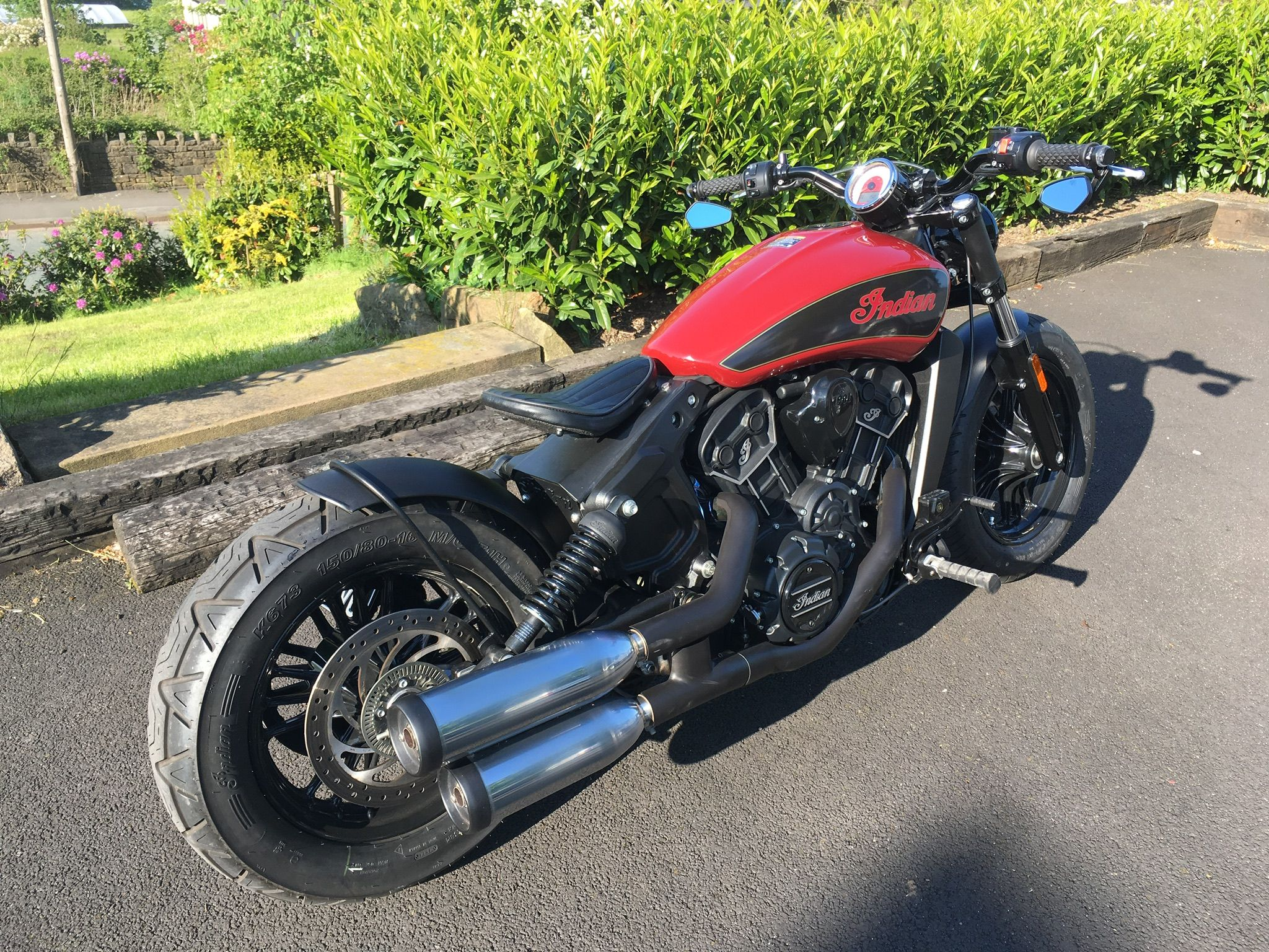 Pin by Mark Stubbins on Indian scout custom | Indian scout ...