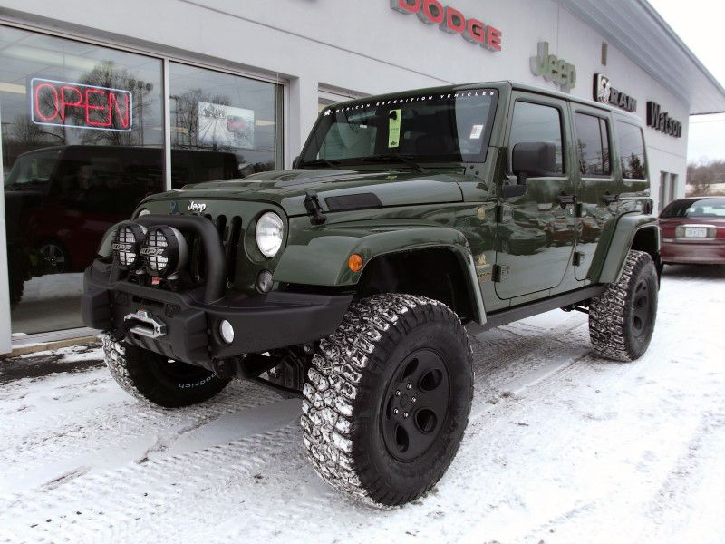 Just In 2015 Filson Edition Aev Jk350 Unlimited Rubicon