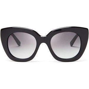 6e24384091898 kate spade new york Narelle Oversize Thick Rim Cat Eye Sunglasses ...