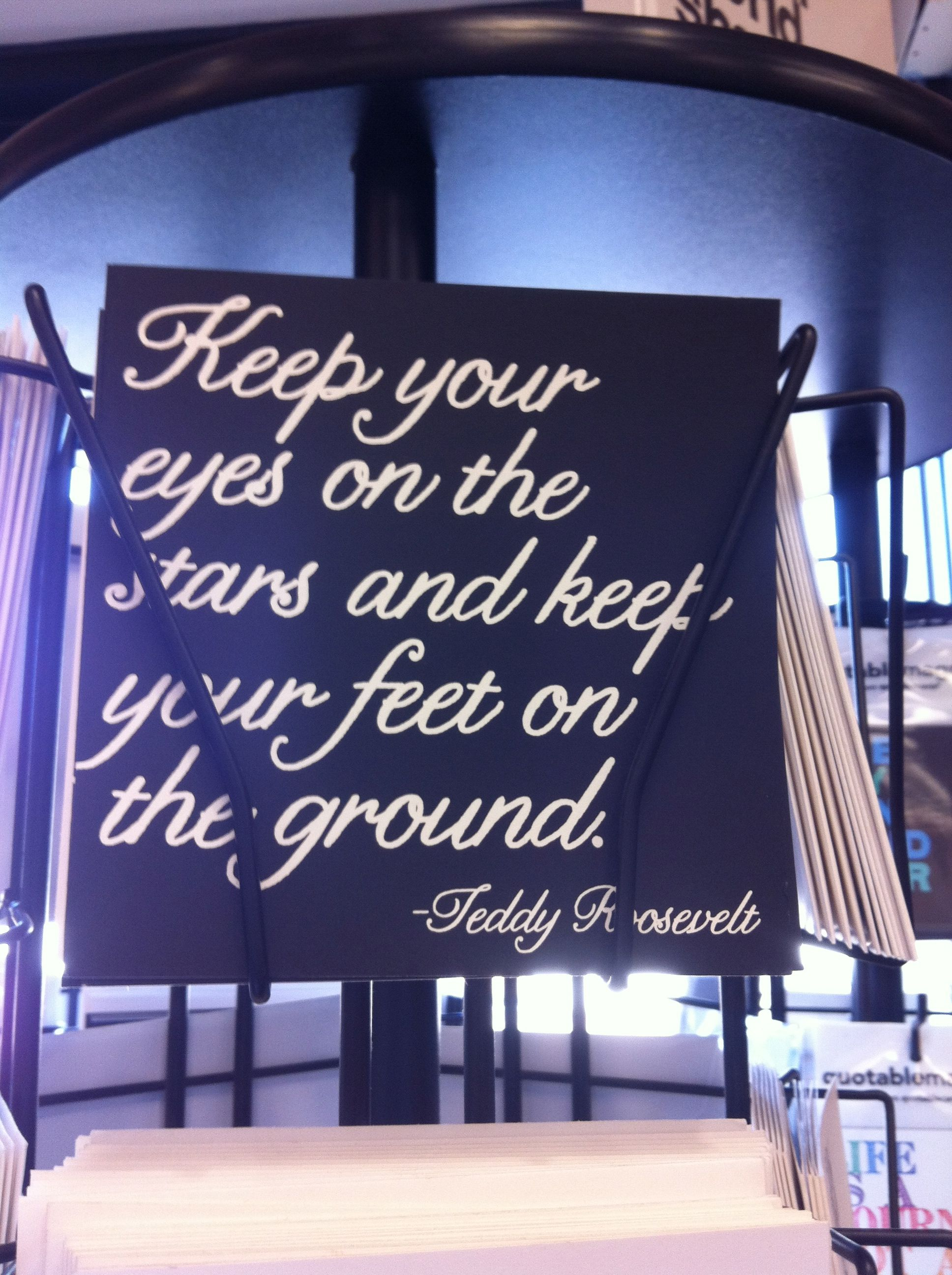 Keep looking up for your help, and your feet will remain on solid ground.
