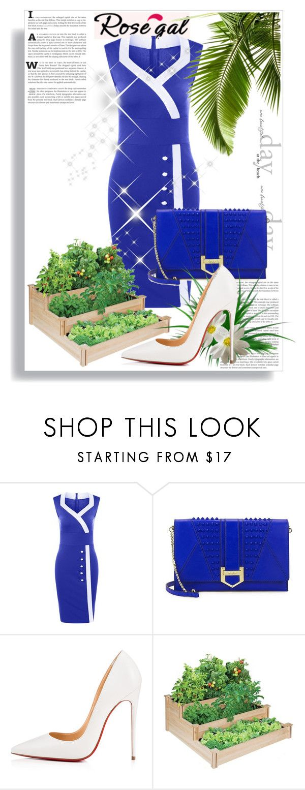 """Untitled #85"" by aammiraa ❤ liked on Polyvore featuring Milly and Christian Louboutin"