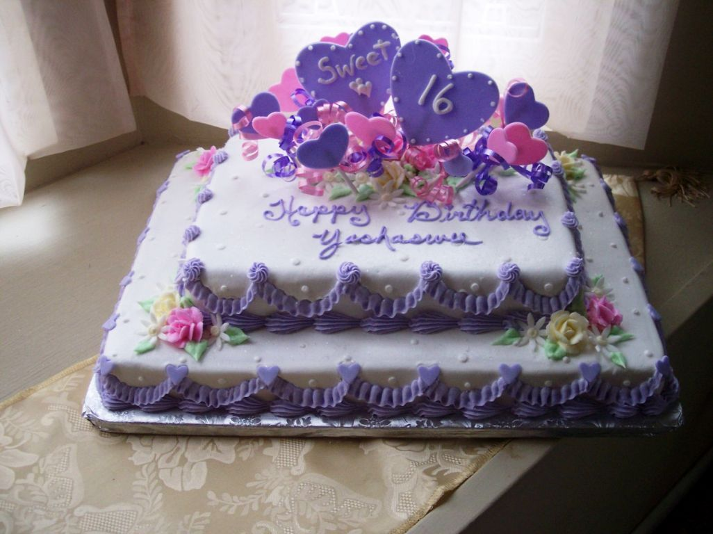 Simple Birthday Cakes For Women