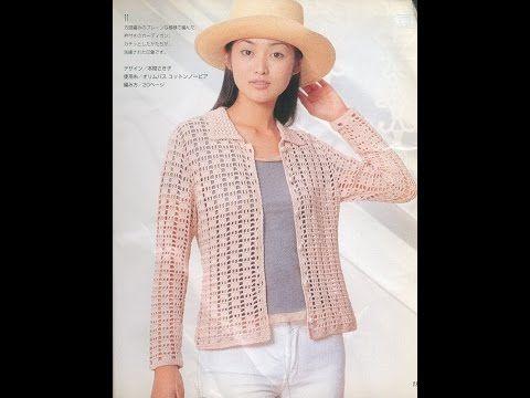 Crochet Patterns| for free |crochet cardigan| 1395 | crochet ...