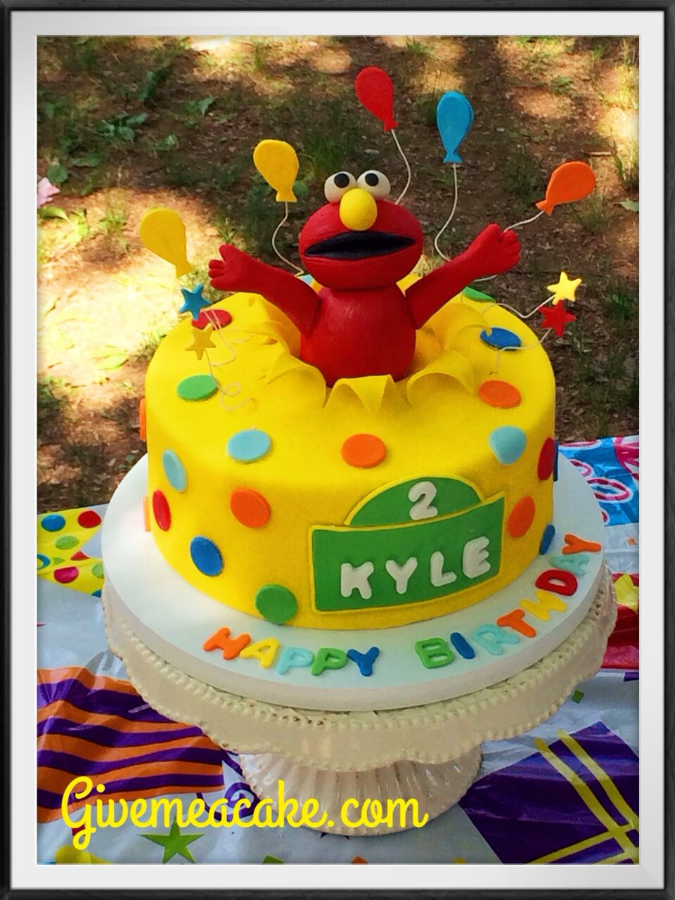 Elmo Cake By Givemeacake Customized At Edison NJ Contact Email