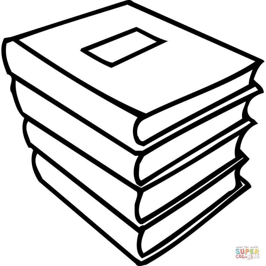 Coloring Page Book Printable Coloring Page Preschool Coloring
