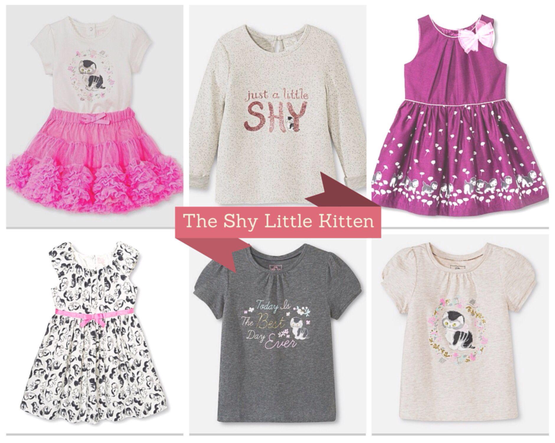 65f1d0d05 target kids shy little kitten   Target Kids   Kids outfits, Little ...