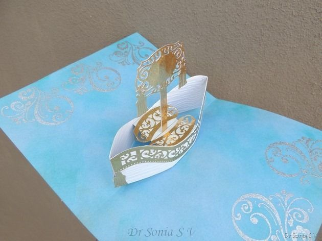 Cards Crafts Kids Projects Boat Pop Up Card Tutorial Card Tutorial Pop Up Cards Paper Pop