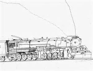 how to draw a realistic steam train