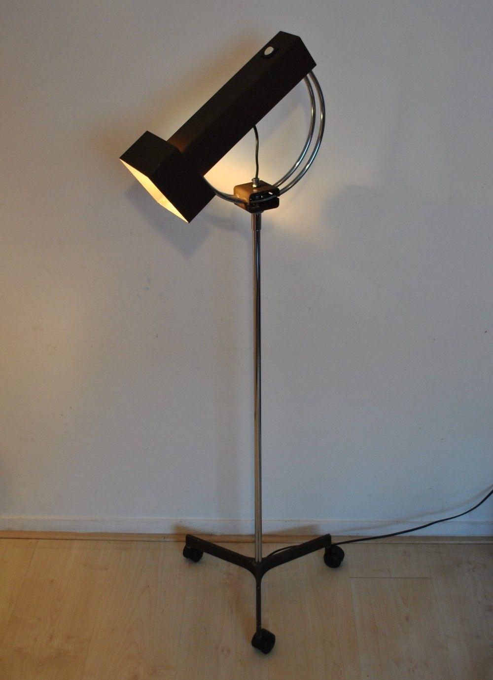 Brutalist Floorlamp By Raak Amsterdam 1960s Floor Lamp Brutalist Lamp