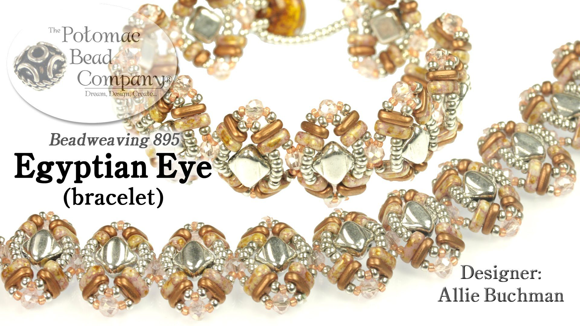 Egyptian eye bracelet diy seed bead tutorials bead pinterest