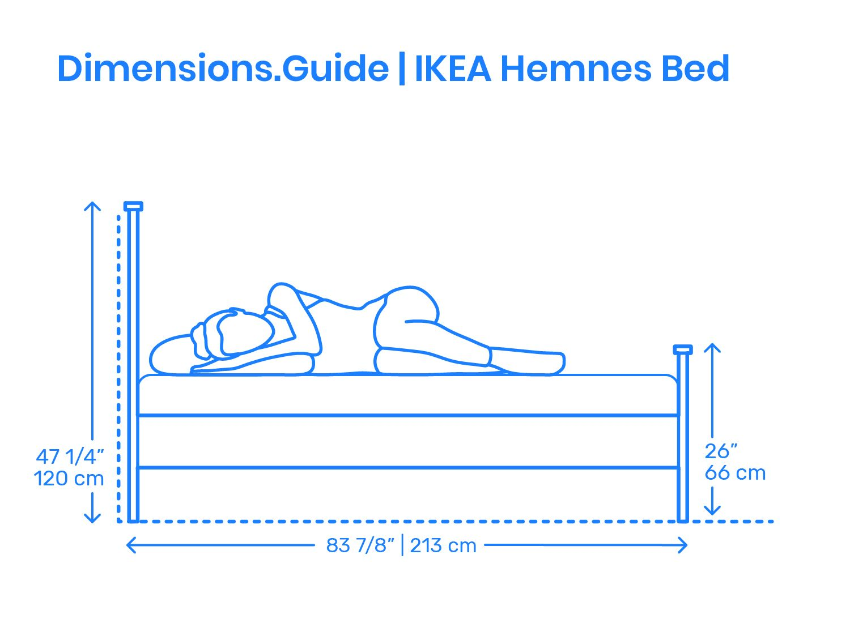 Ikea Hemnes Bed Scale Comparison Ikea Hemnes Bed Hemnes Bed