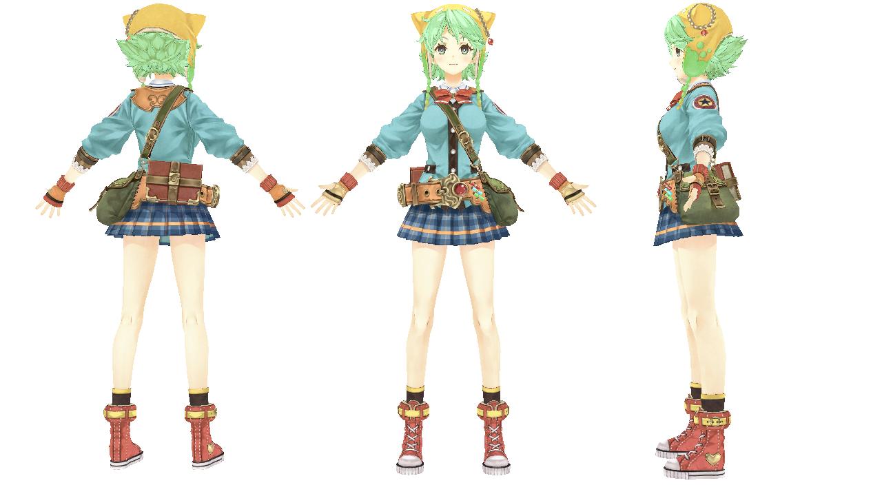 3D Model Game Character シャリ...