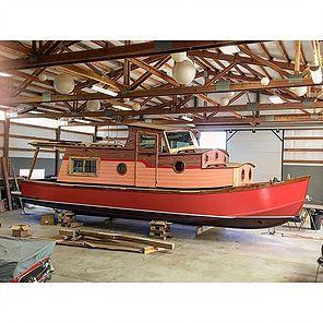 Waterwoody Houseboat Living House Boat Hull