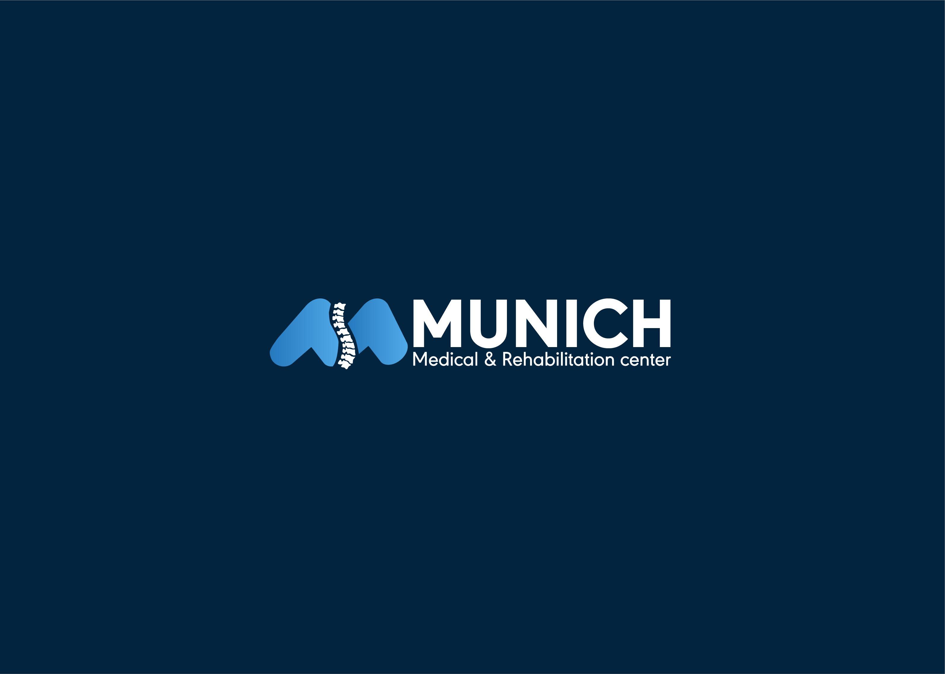 Munich Logo Design For Medical Rehabilitation Center In 2020 Logo Design Rehabilitation Rehabilitation Center