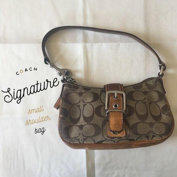Coach Small Signature Shoulder Bag Bags Shoulder Bag Small