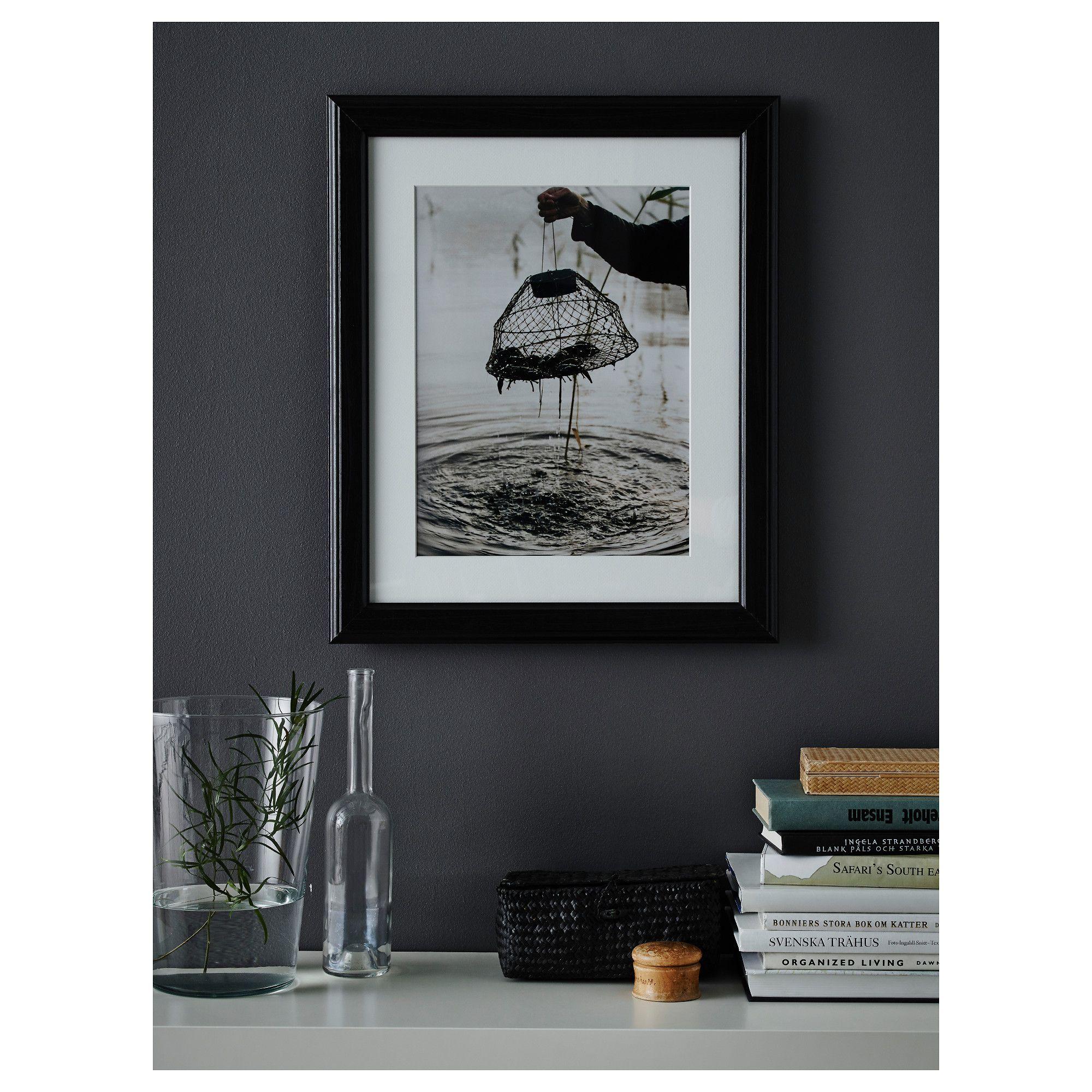 IKEA - VIRSERUM Frame dark brown | Products