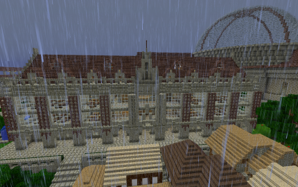 A Minecraft University by Xehara | Minecraft | Pinterest | Minecraft on