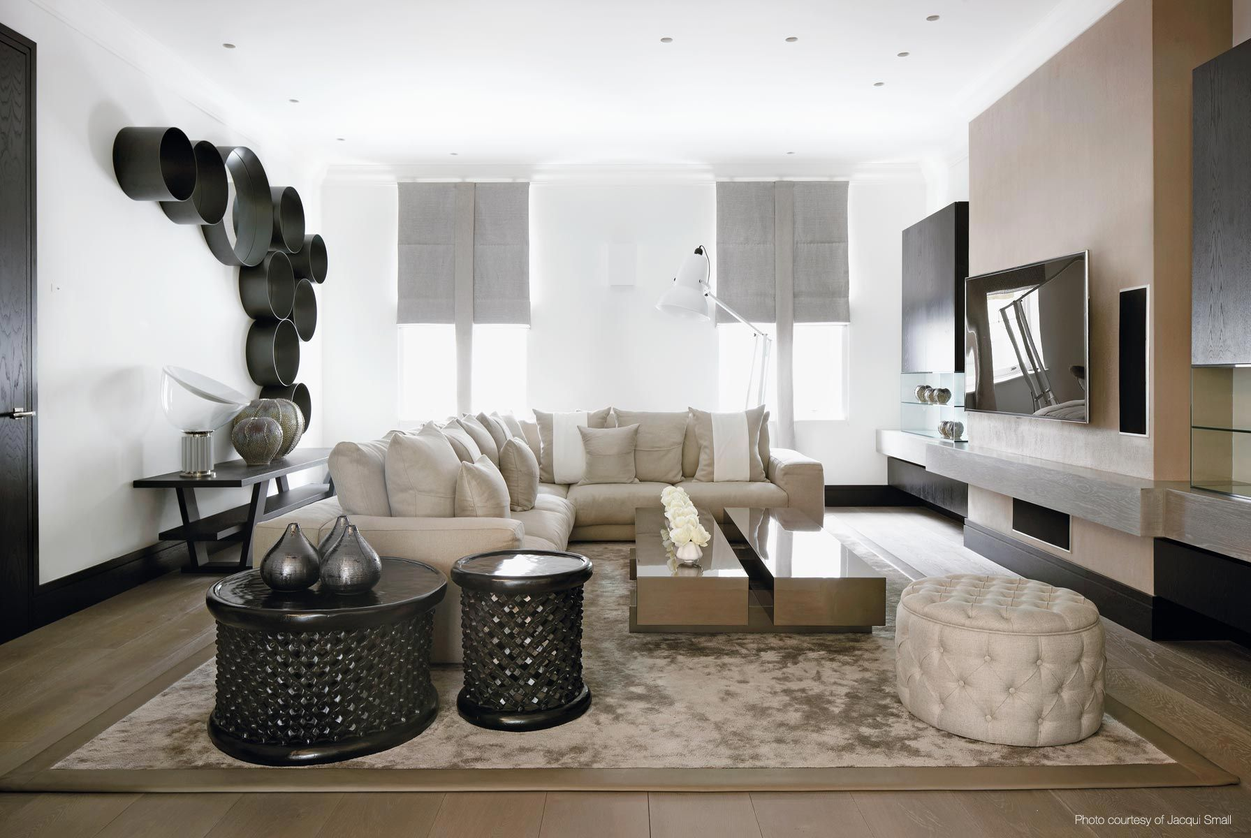 Living Room Design Contemporary Prepossessing Kelly Hoppen Couturekellyhoppen Interior Designcontemporary Inspiration