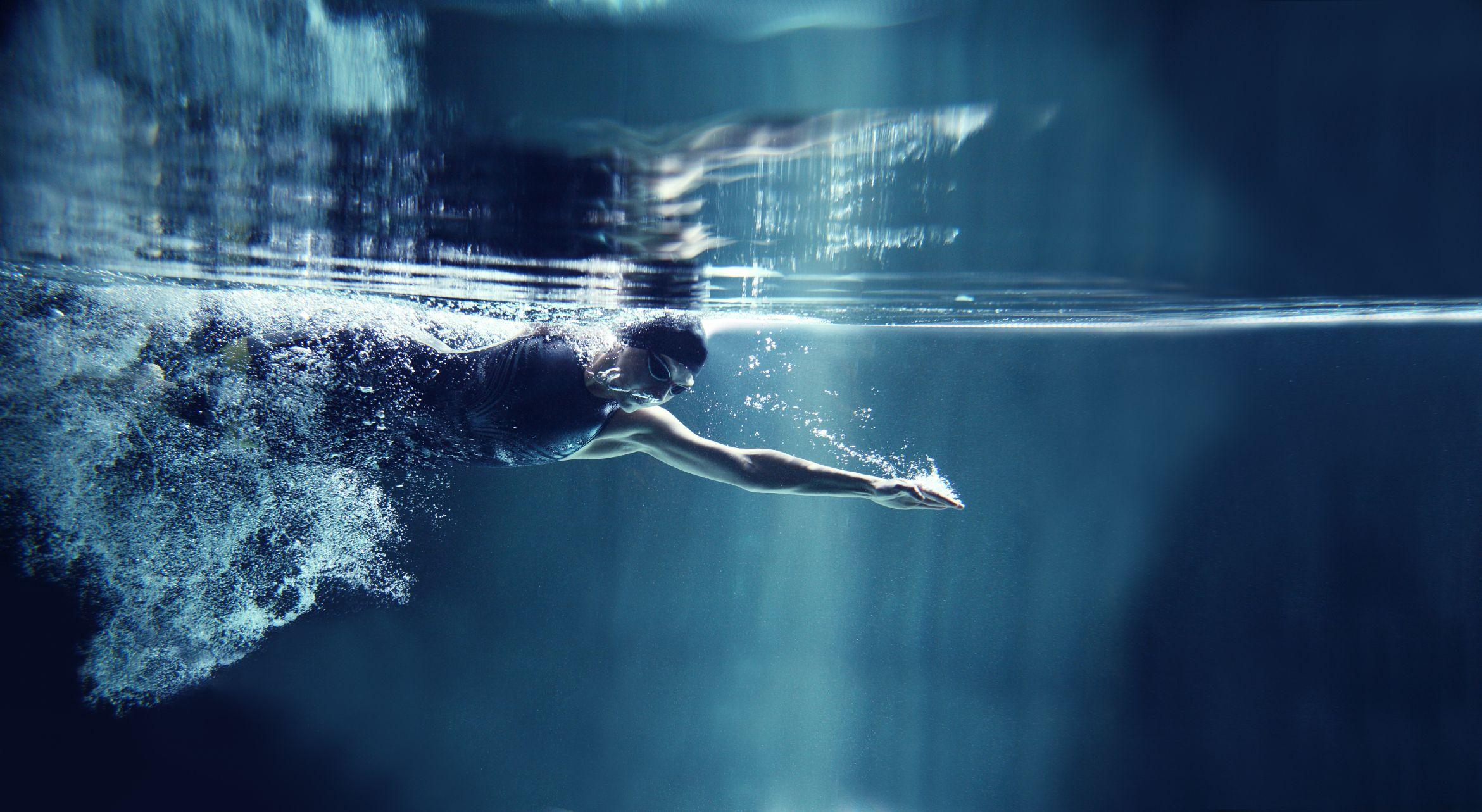 swimmer underwater | Swimmers