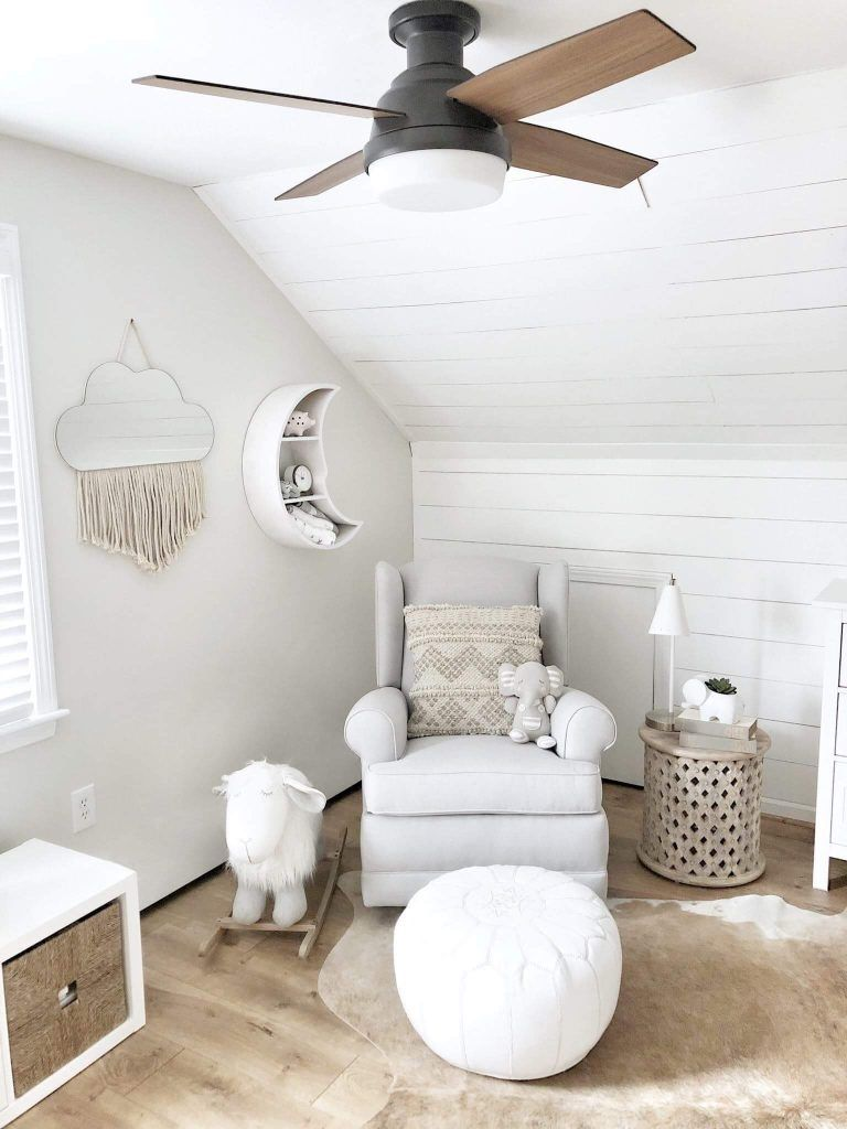 Blogger Feature Why You Need A Nursery Ceiling Fan