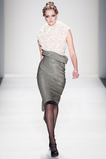 Hair designed by Valon Salon and Philip Pelusi Venexiana Spring 2014 #NYFW