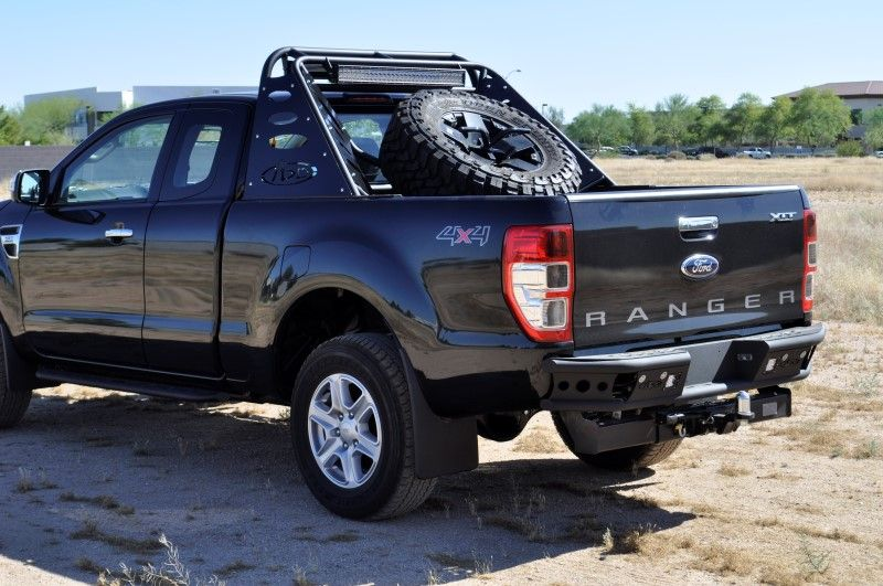 2011 2013 ford ranger t6 dimple r rear bumper 4jpg 800 - Ford Ranger 2014 Lifted