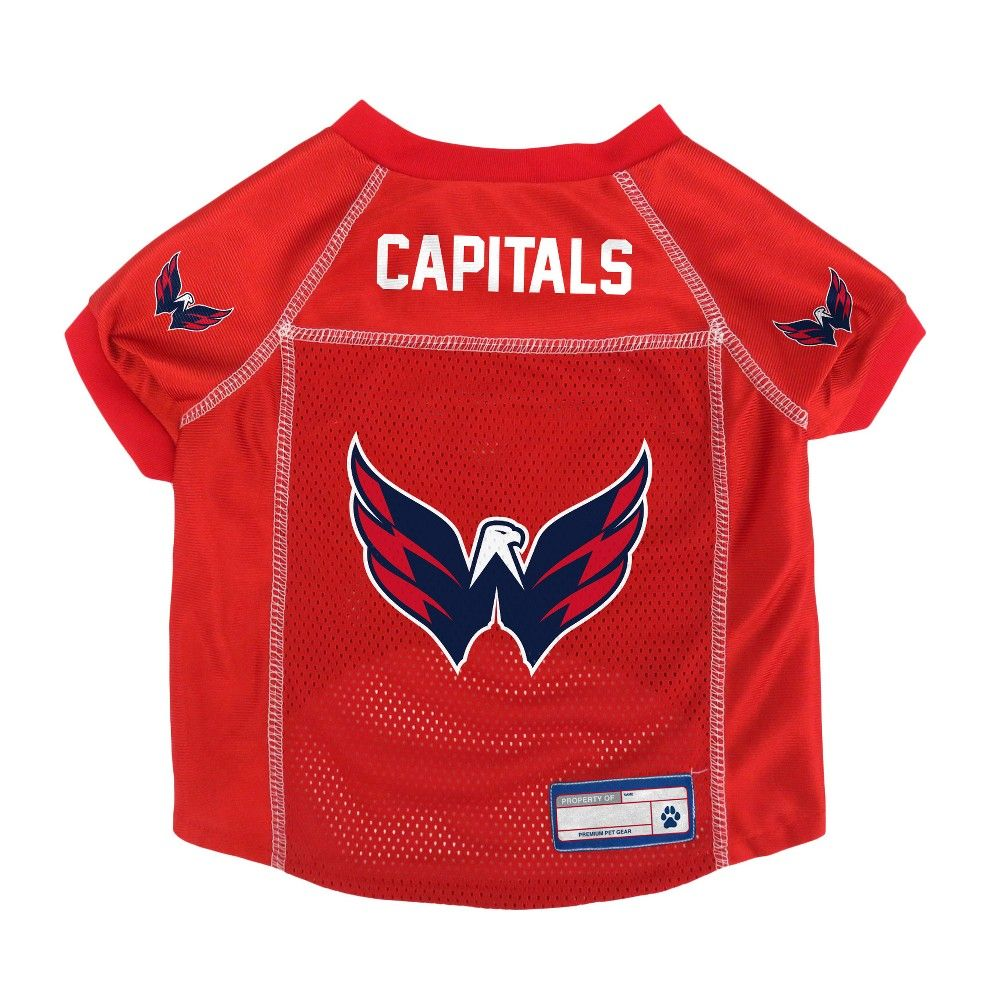 ad244ffd6 NHL Washington Capitals Pet Jersey - XL