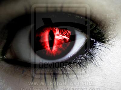 The Evil Eye By Crazy Kiwii On Deviantart Vampire Eyes Demon Eyes Crazy Eyes