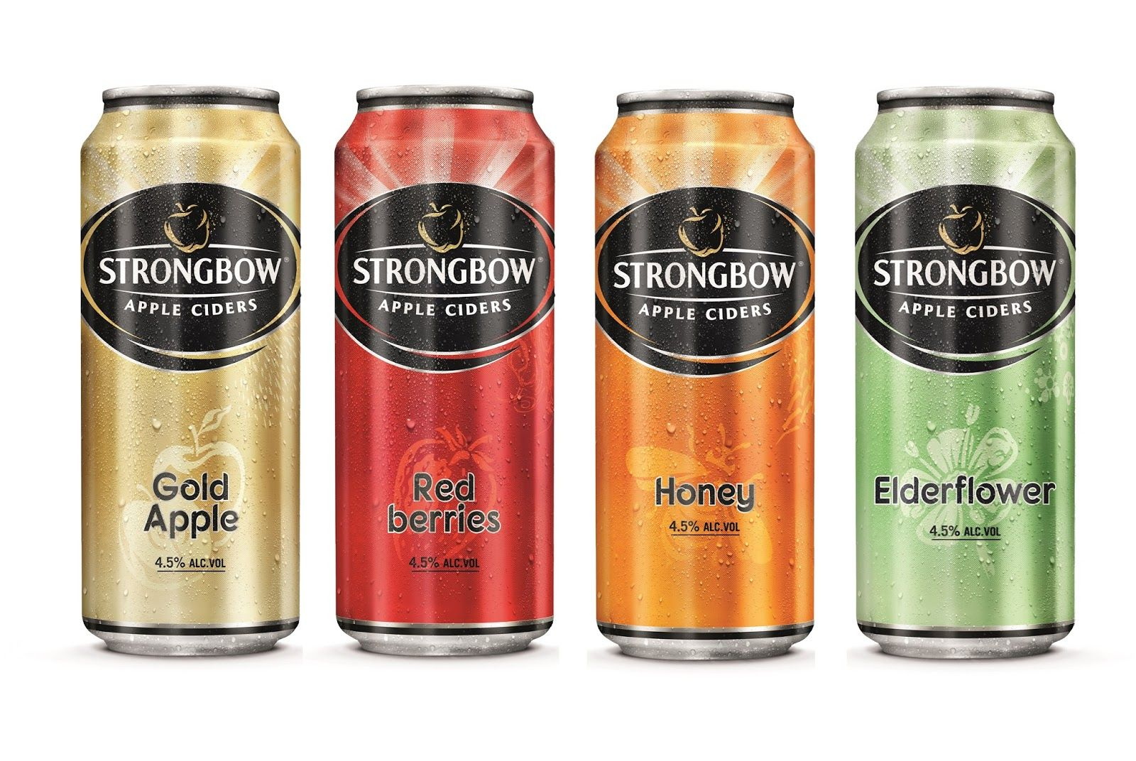 Strongbow Apple Ciders Cider Apple Cider Beer Packaging