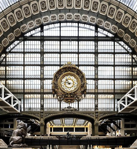 Musee de Orsay, The Clock - my favorite museum that I have visited.  Awesome!
