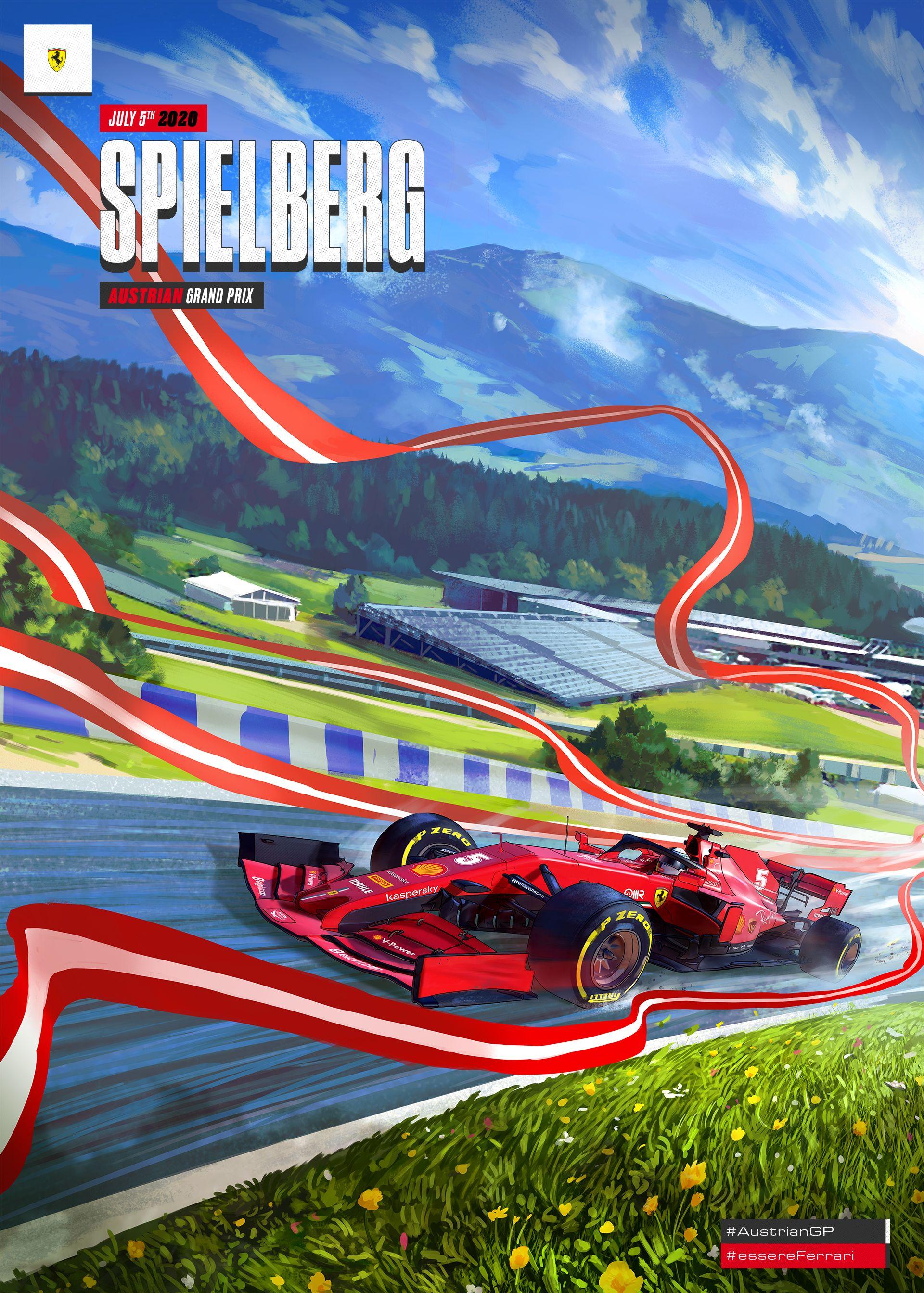 Scuderia Ferrari On Twitter Grand Prix Posters Ferrari Poster Formula 1