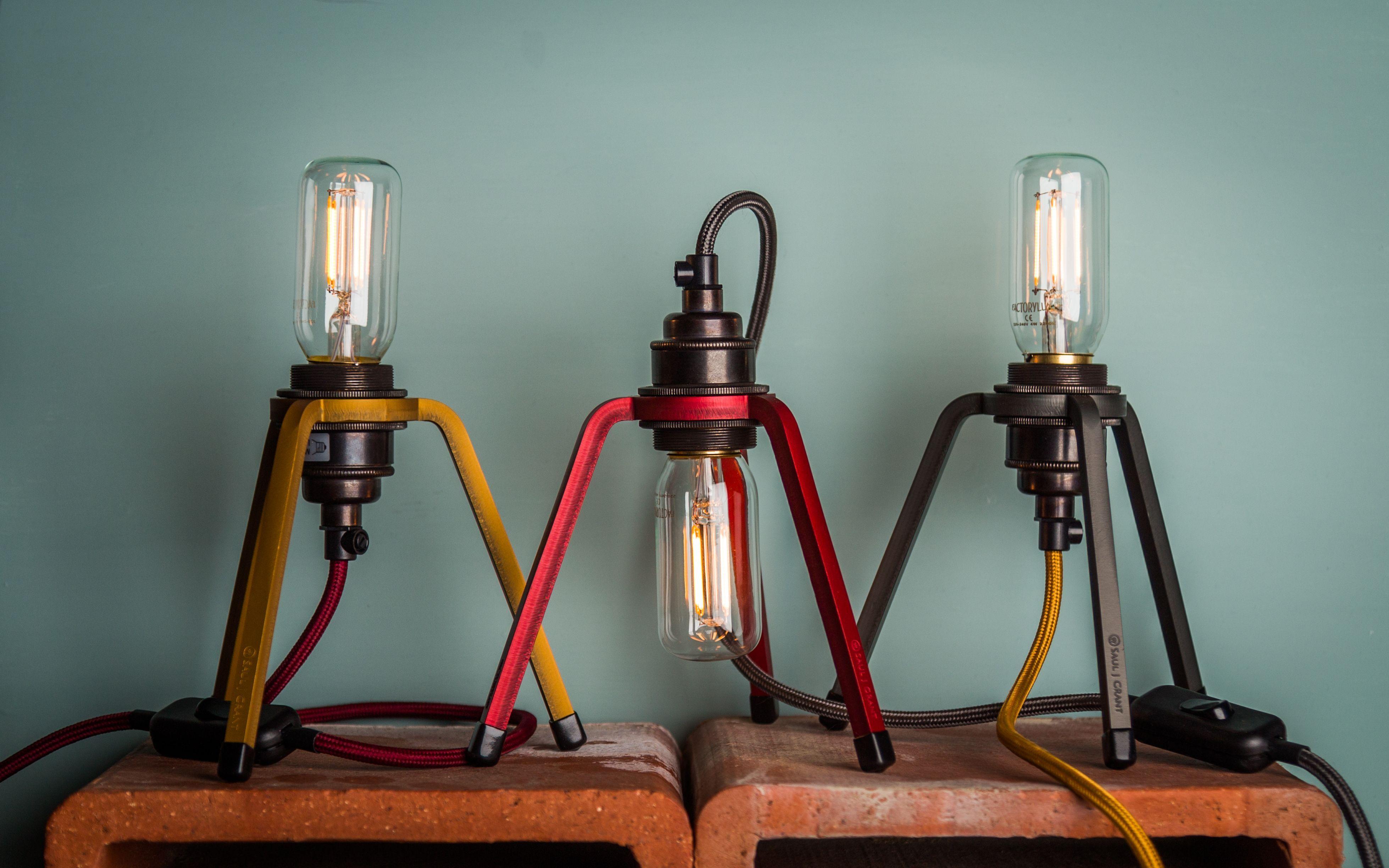 Phage | Saul J Grant x Factorylux | Bedside lamp, Unique