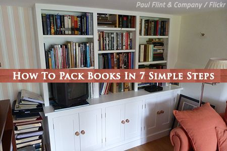 How To Pack Books In 7 Simple Steps Llm Group Lv In 2019