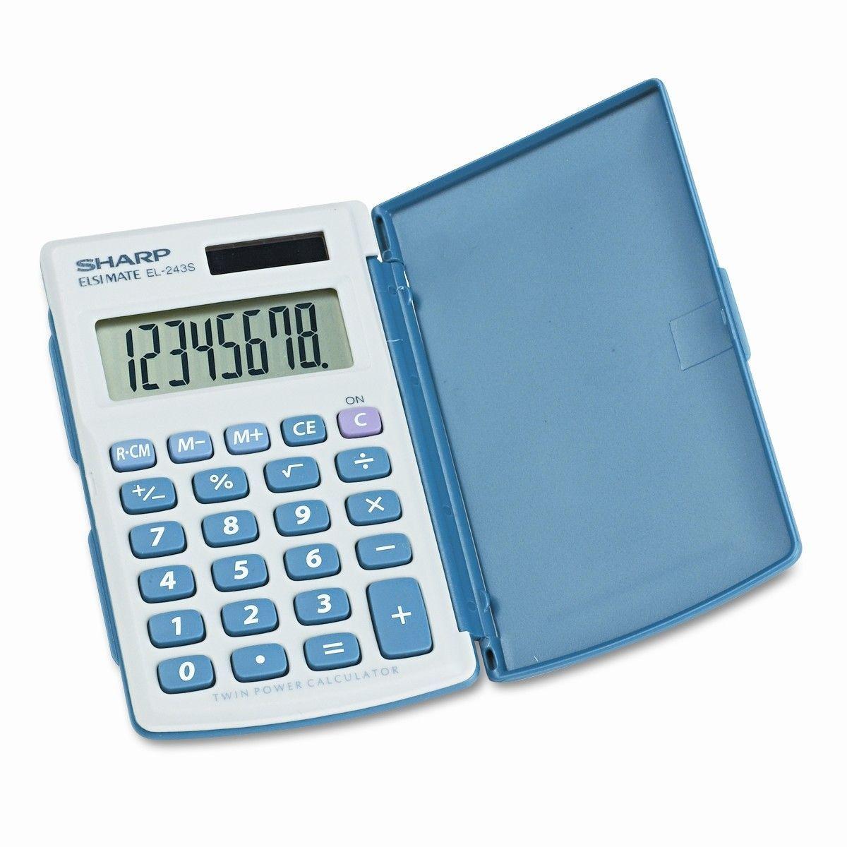 EL243SB Basic Calculator, EightDigit LCD Products