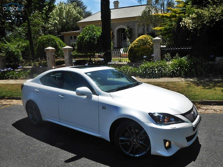 2011 Lexus IS250 F Sport MY11 Sports Automatic