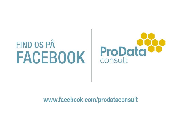 Pro data consult facebook - Du kan nu finde os på facebook og følge seneste nye fra ProData Consult