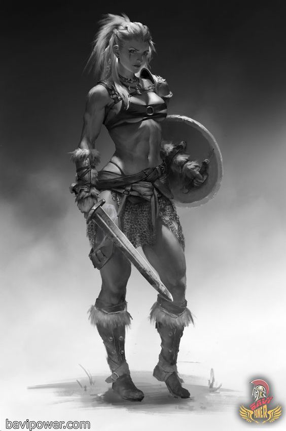 """Photo of Viking women – Viking women """"Behind every great man there is a great …"""