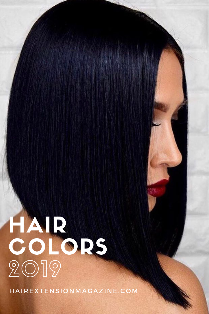 Hair Colors That Will Be Huge In 2019 Hair Extension Magazine Hair Color For Black Hair Short Hair Color Natural Hair Styles Easy