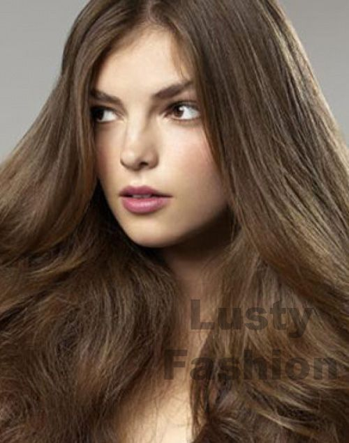 I\u002639;m going to get this Medium Ash Brown Hair Color with some blonde highlights and maybe a