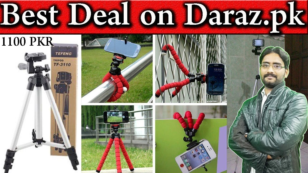 Best Deal on Daraz.pk Only 1100 PKR | Tripod Stand For Camera