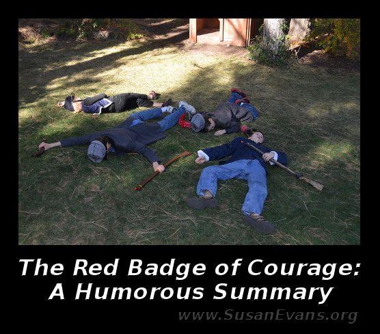 Red Badge Of Courage Humorous Summary Teaching American History Homeschool History Curriculum