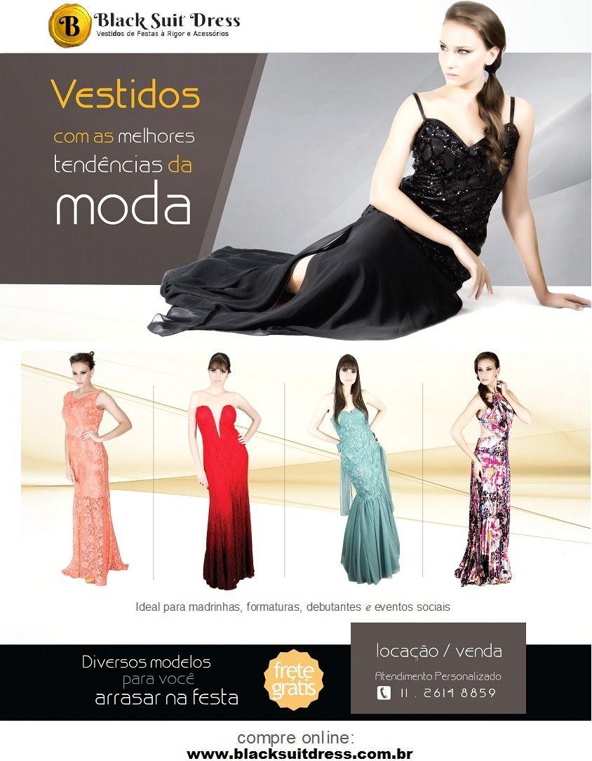 Vestidos lindos de morrer pra parar qualquer festa, você encontra aqui na Black Suit Dress. Venda e locação.  Acesse: http://blacksuitdress.com.br/ #vestidodefesta #formatura #casamento #madrinha #maedenoiva #convidada #festa #moda #look #lookfesta #brilho #estilo #elegancia #sofisticação #chic # formanda