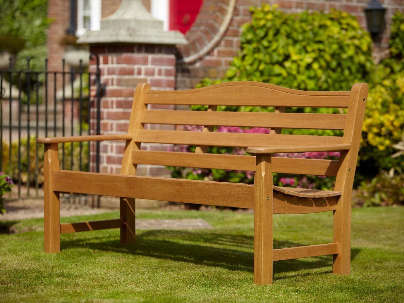 Hartman Lydbury 2 Seat Bench With Free Brass Plaque U0026 Cushion Link:  Http://www.hayesgardenworld.co.uk/product/hartman Lydbury 2 Seat Bench  Free Brau2026