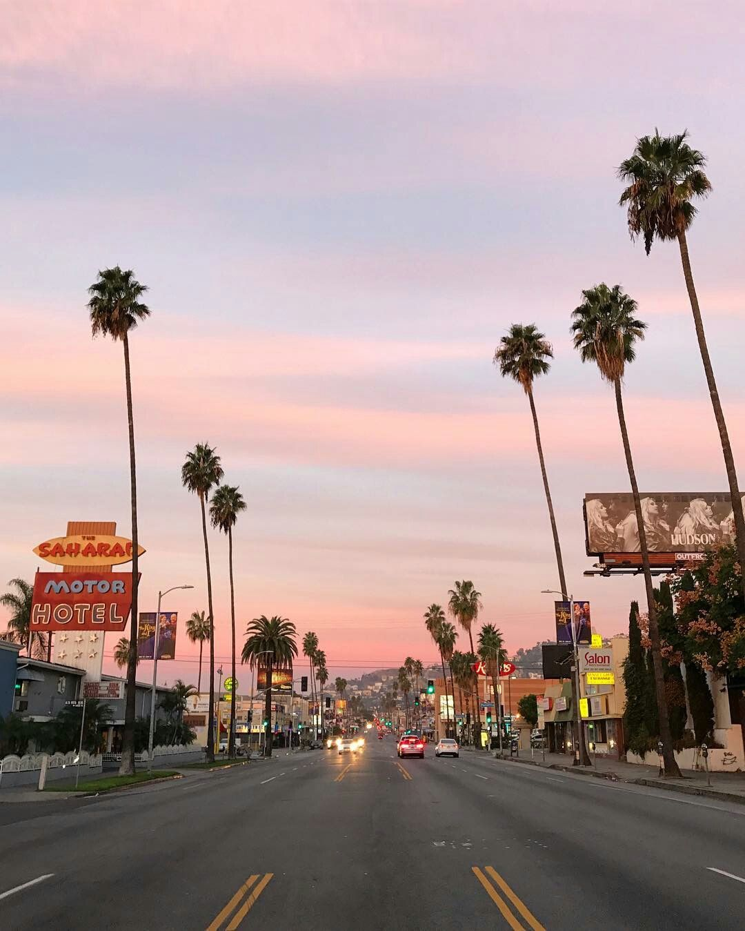 Wallpaper Los Angeles: W A N D E R L U S T