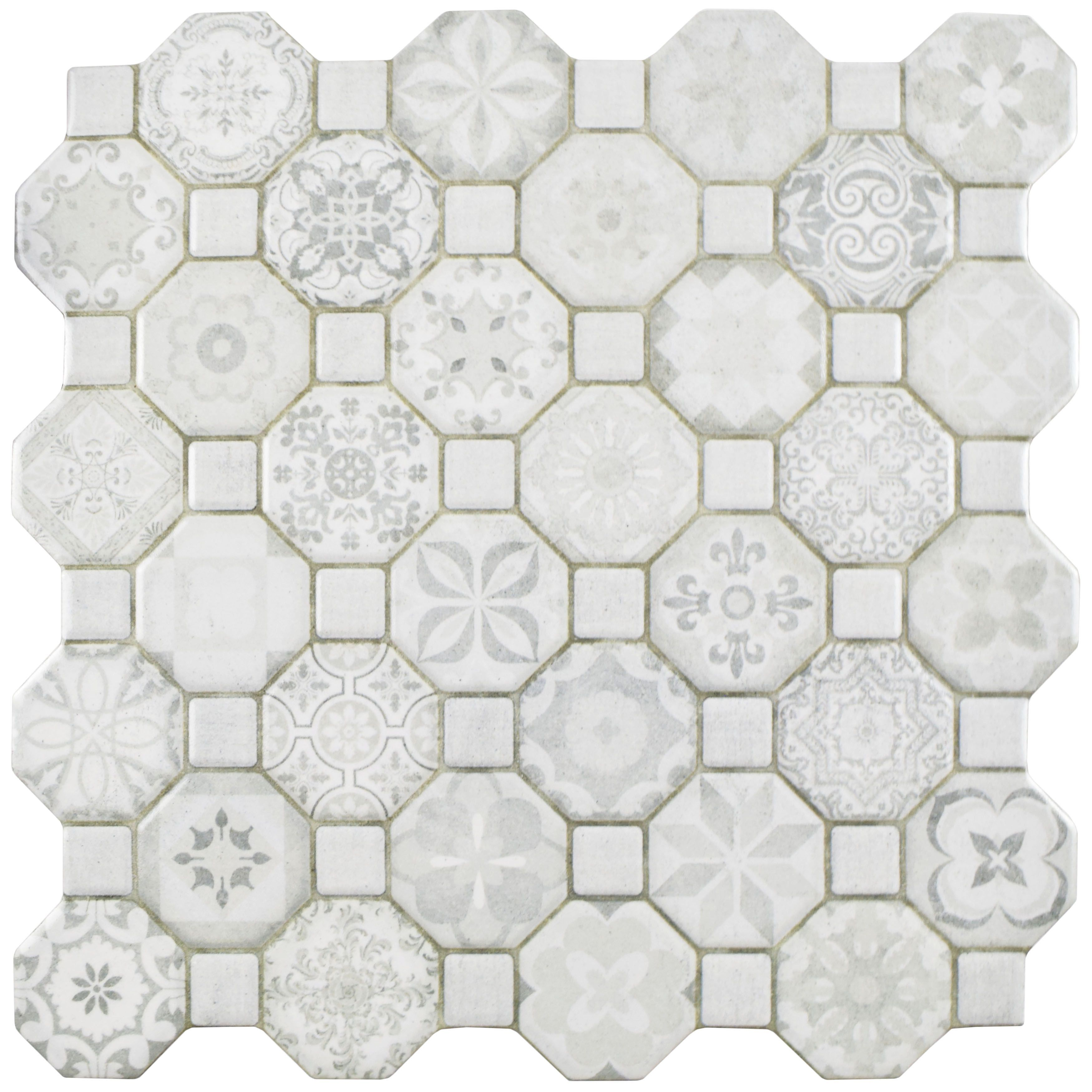 Somertile 12 25x12 25 Inch Tesseract White Ceramic Floor And Wall Tile 13 Tiles 14 11 Sqft Ceramic Floor Floor And Wall Tile Tiles