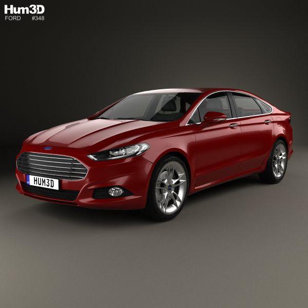 3d Model Of Ford Mondeo Hatchback 2014 V 2020 G Avtomobili