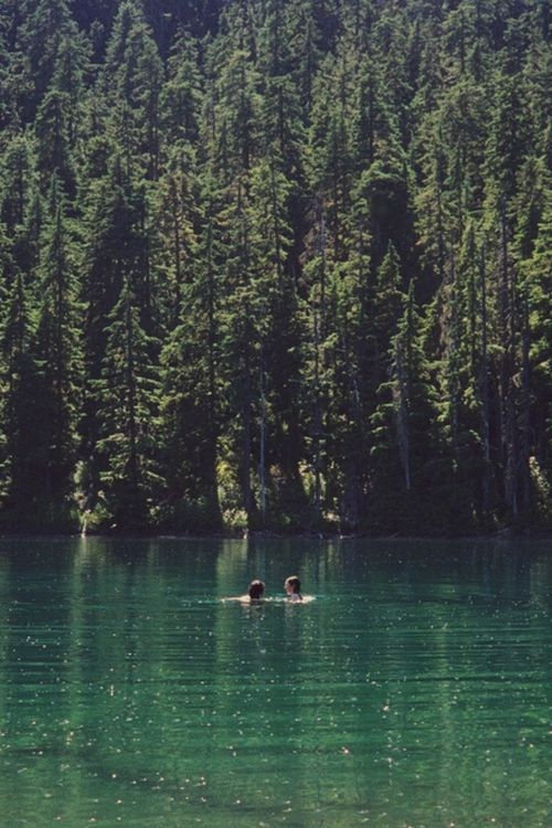 An entry from Inhale, Exhale ☯ #oregontravel This picture reminds me of Wallowa Lake, Oregon. Oh how I loved spending time there!