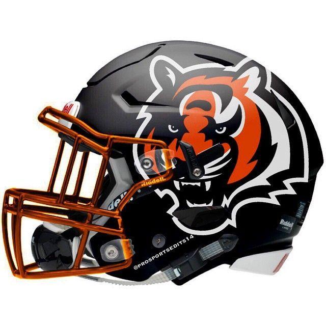 Cincinnati Bengals Concept Helmet Bengals Football Football